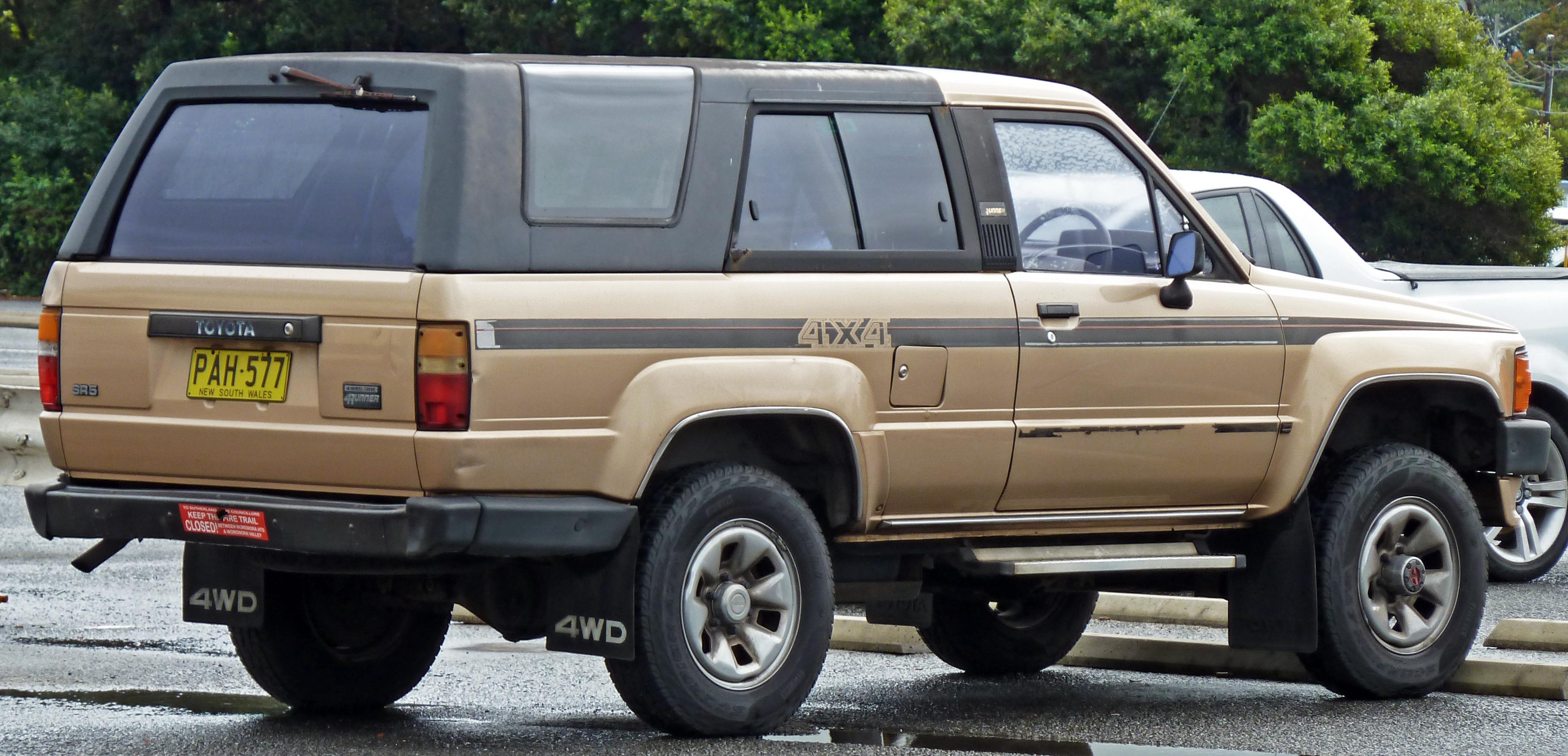 Toyota Hilux Surf II 1989 - 1992 SUV 3 door #3