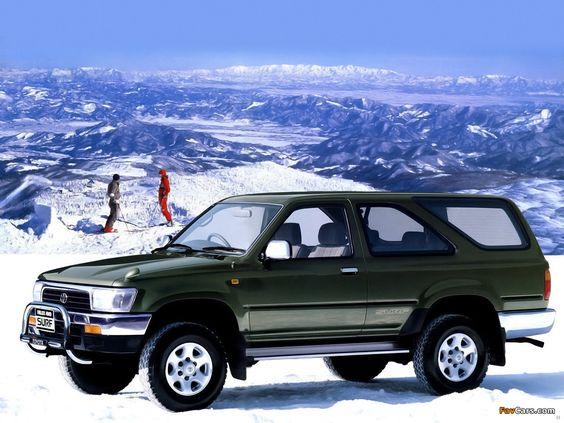 Toyota Hilux Surf II 1989 - 1992 SUV 3 door #6