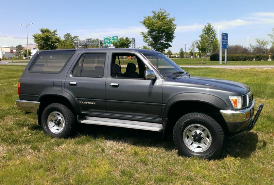 Toyota Hilux Surf II 1989 - 1992 SUV 3 door #5