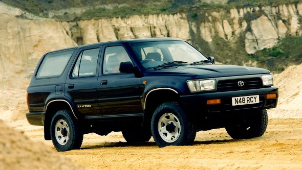 Toyota Hilux Surf II Restyling 1993 - 1995 SUV 3 door #4