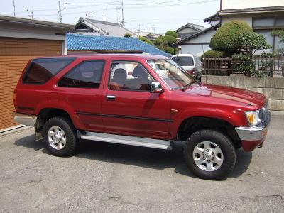 Toyota Hilux Surf II Restyling 1993 - 1995 SUV 3 door #7