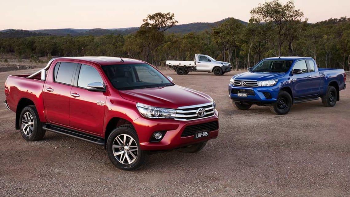 Toyota Hilux VIII 2015 - now Pickup #7