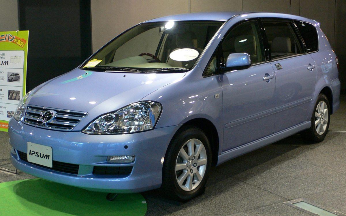 Toyota Ipsum II (M20) Restyling 2003 - 2009 Compact MPV #4