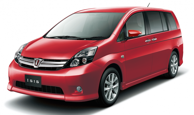 Toyota ISis I Restyling 2009 - now Compact MPV #1