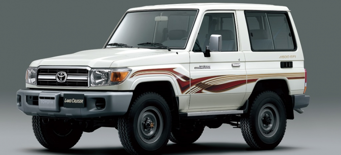 Toyota Land Cruiser 70 Series Restyling 2007 - now SUV 3 door #2