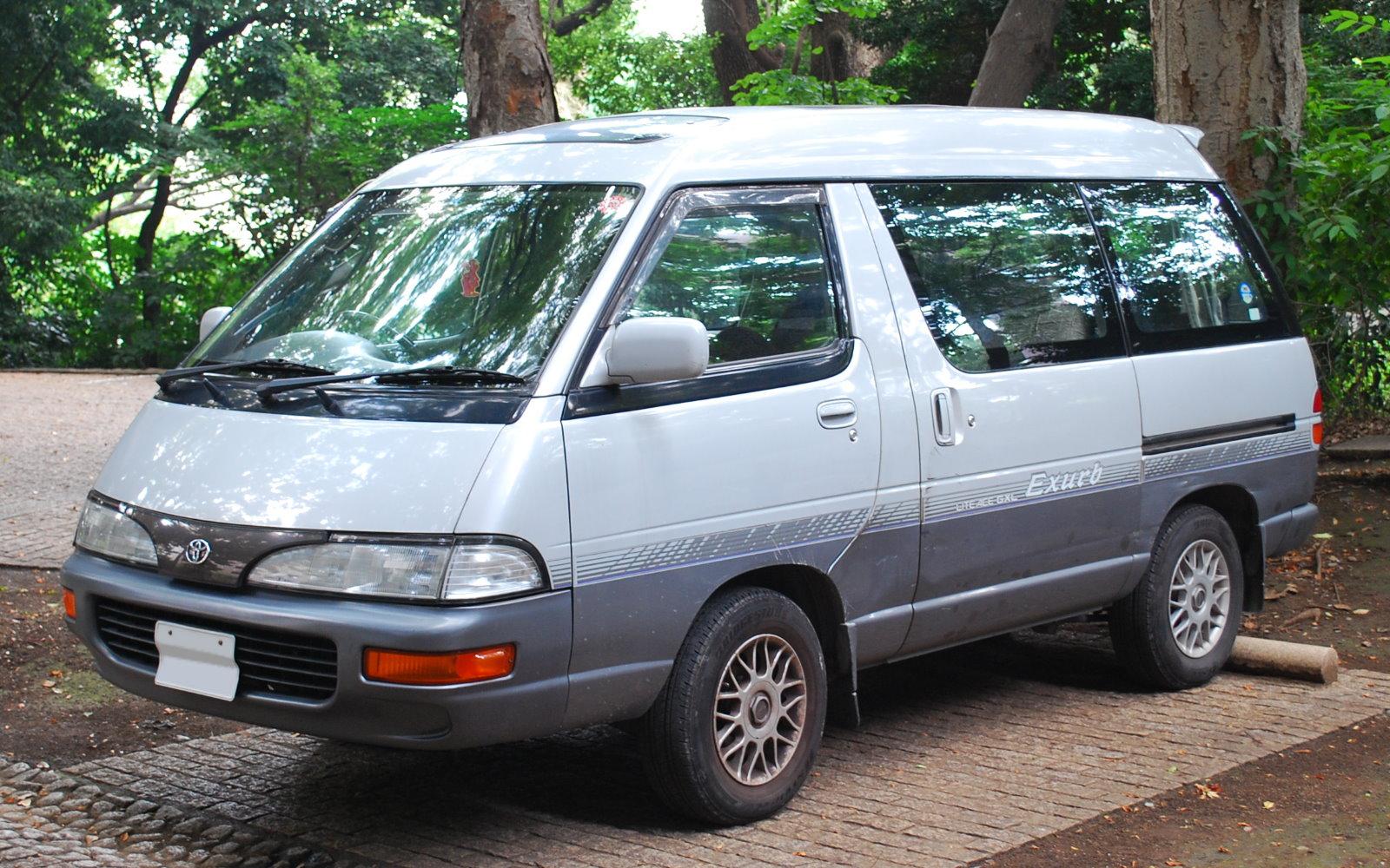 Toyota LiteAce IV 1992 - 1996 Minivan #5