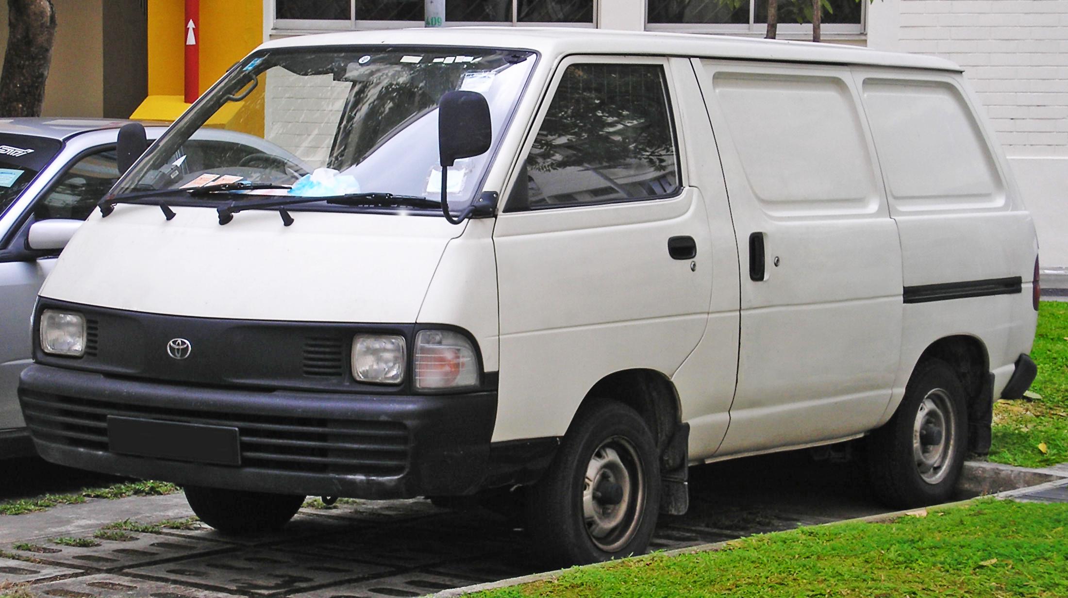 Toyota Model F 1982 - 1992 Minivan #1