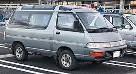 Toyota Model F 1982 - 1992 Minivan #2