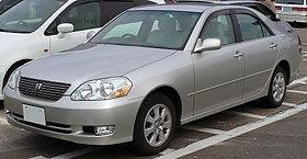 Toyota Mark II IX (X110) 2000 - 2007 Sedan #8