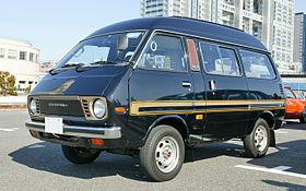 Toyota Model F 1982 - 1992 Minivan #6