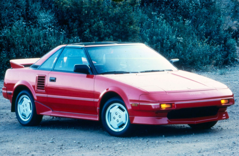 Toyota MR2 I (W10) 1984 - 1990 Coupe #3
