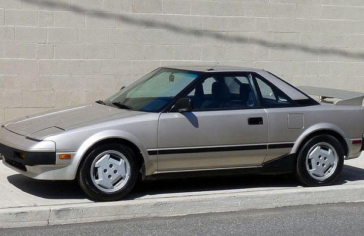 Toyota MR2 I (W10) 1984 - 1990 Coupe #2