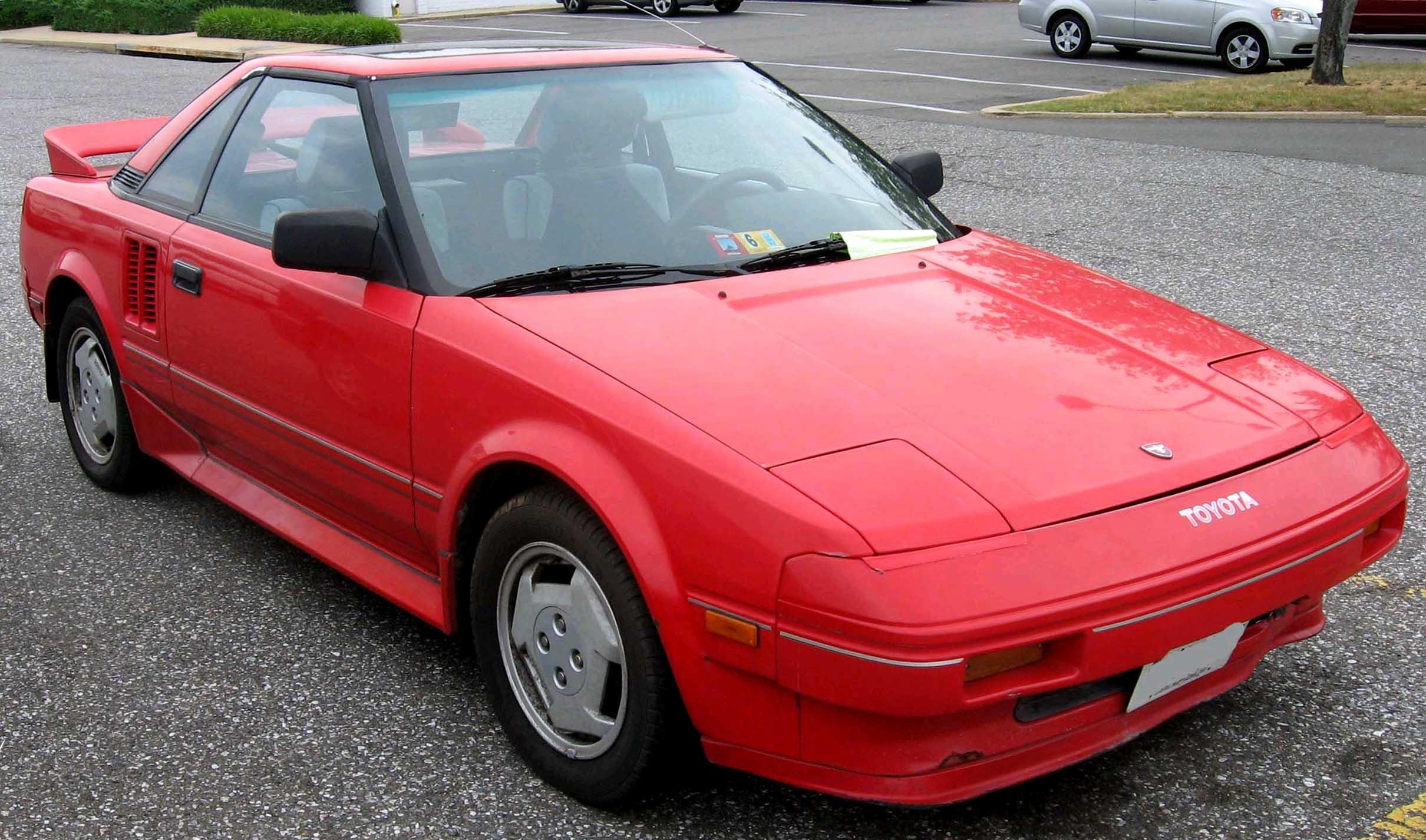 Toyota MR2 I (W10) 1984 - 1990 Coupe #1
