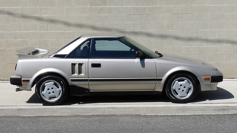 Toyota MR2 I (W10) 1984 - 1990 Coupe #6
