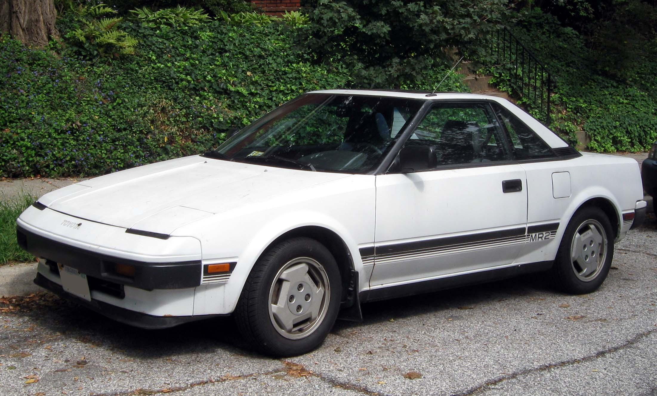 Toyota MR2 I (W10) 1984 - 1990 Coupe #5