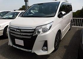 Toyota Noah III (R80) 2014 - now Minivan #8