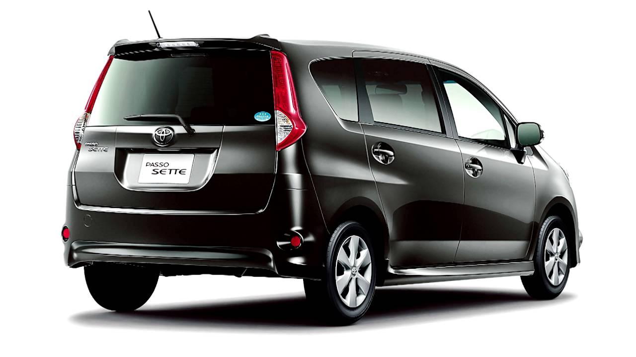 Toyota Passo Sette 2008 - 2012 Compact MPV #8