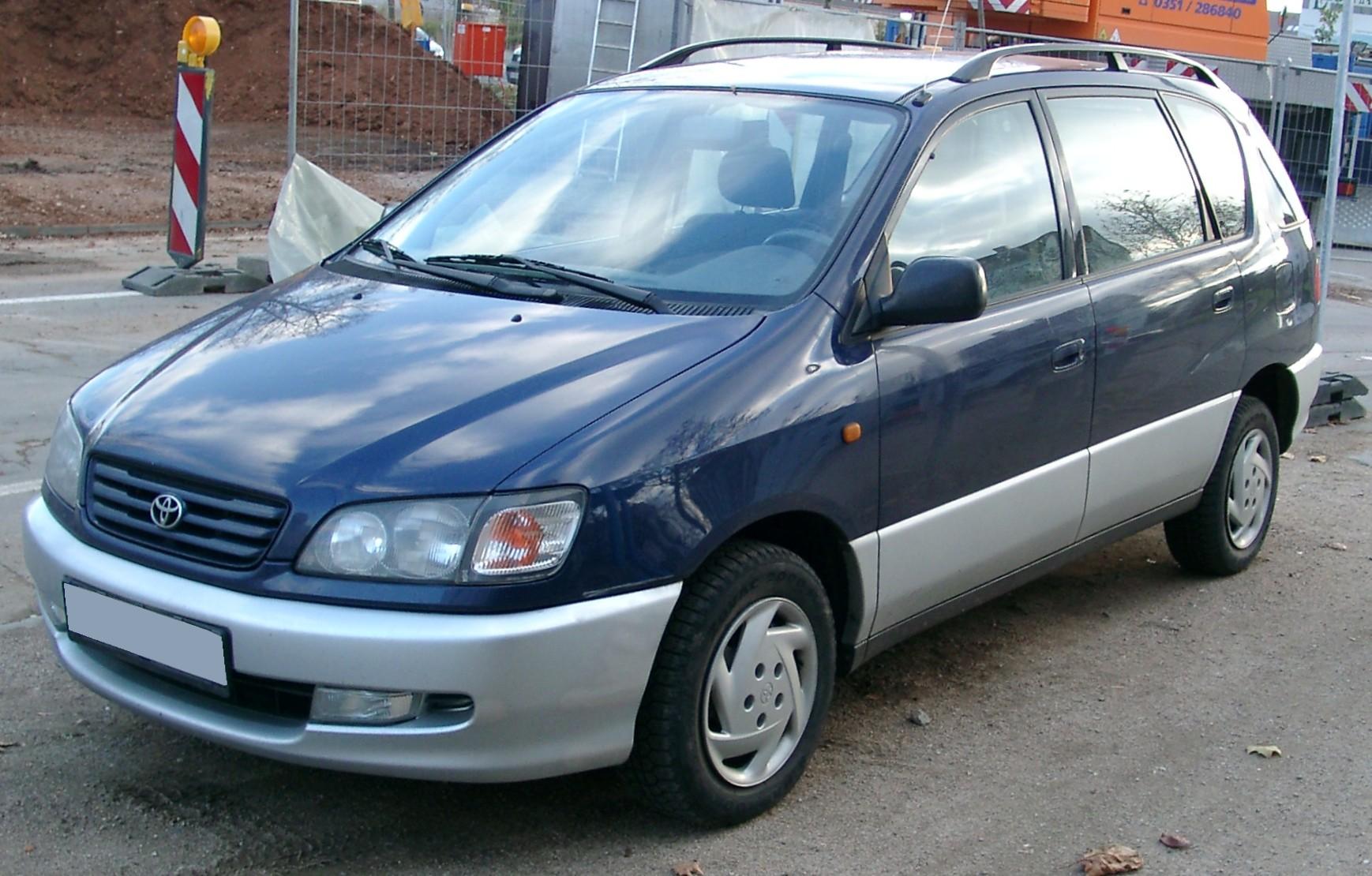 Toyota Picnic I 1996 - 2001 Compact MPV #4