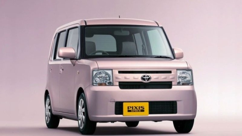 Toyota Pixis Space 2011 - now Microvan #5