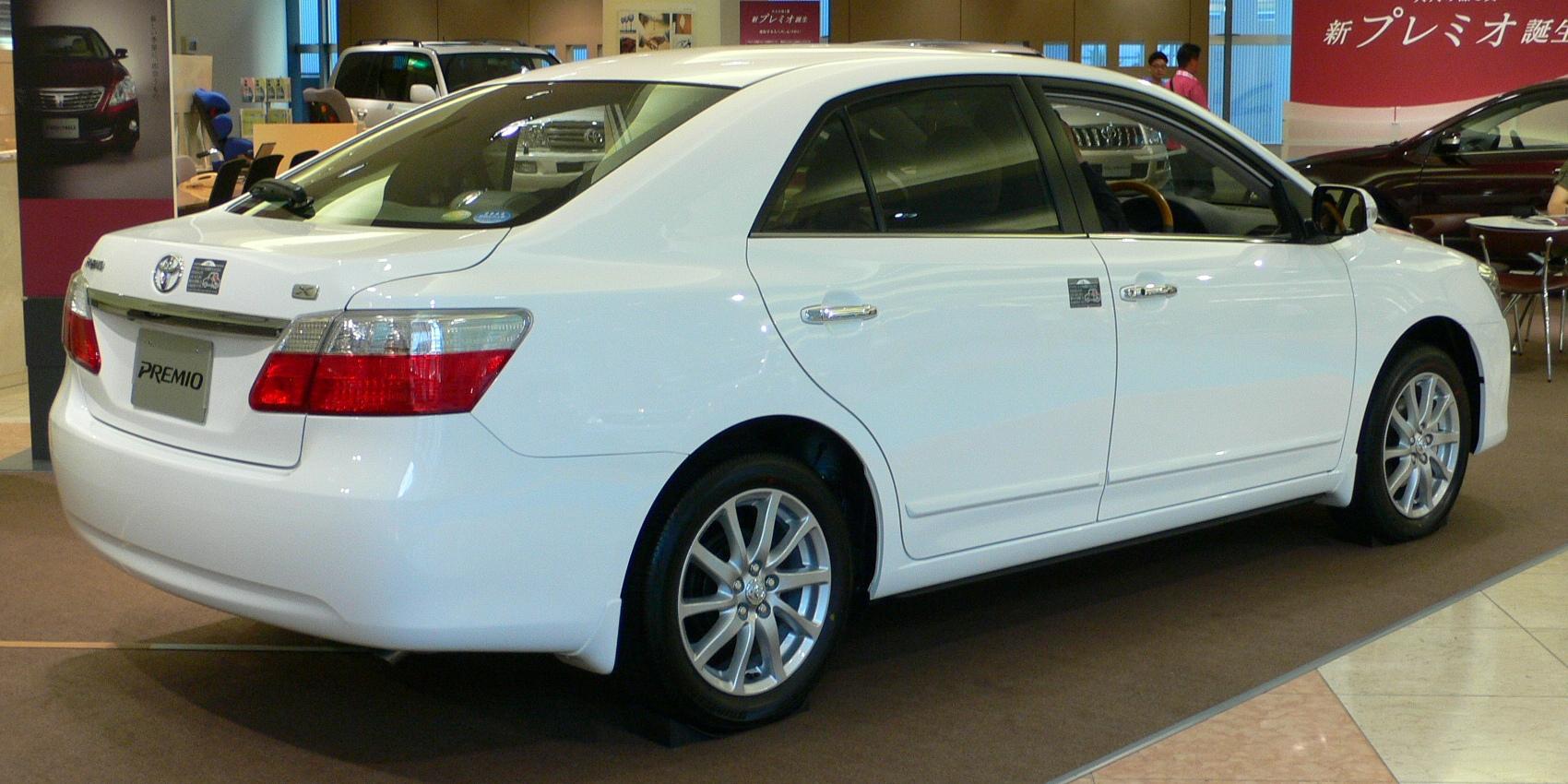 Toyota Premio I (T24) 2001 - 2007 Sedan #8