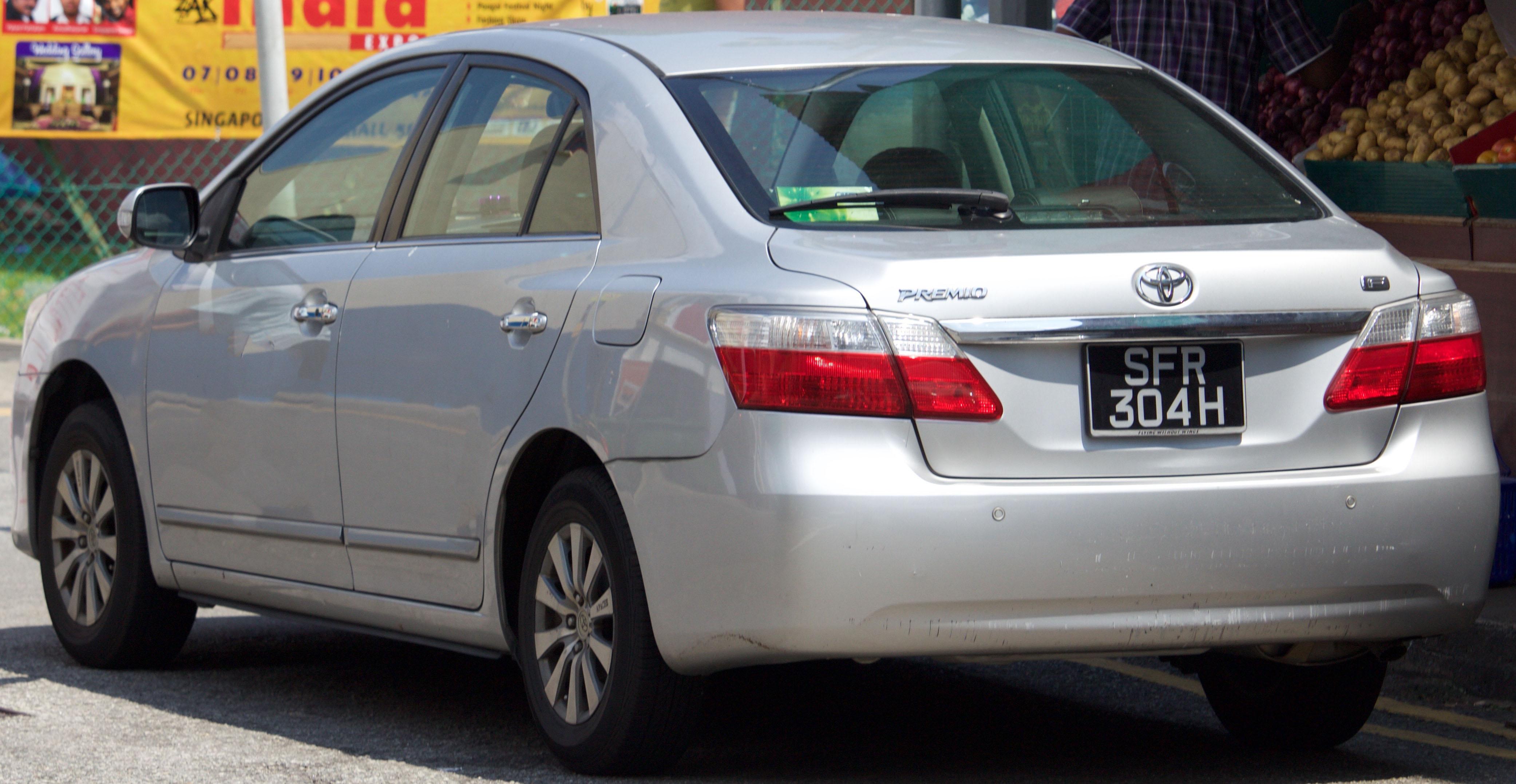 Toyota Premio I (T24) 2001 - 2007 Sedan #6
