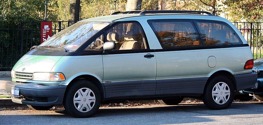Toyota Previa I (XR10, XR20) 1990 - 2000 Minivan #1