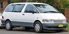 Toyota Previa I (XR10, XR20) 1990 - 2000 Minivan #7