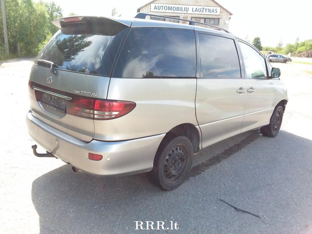 Toyota Previa II (XR30, XR40) 2000 - 2006 Minivan #4