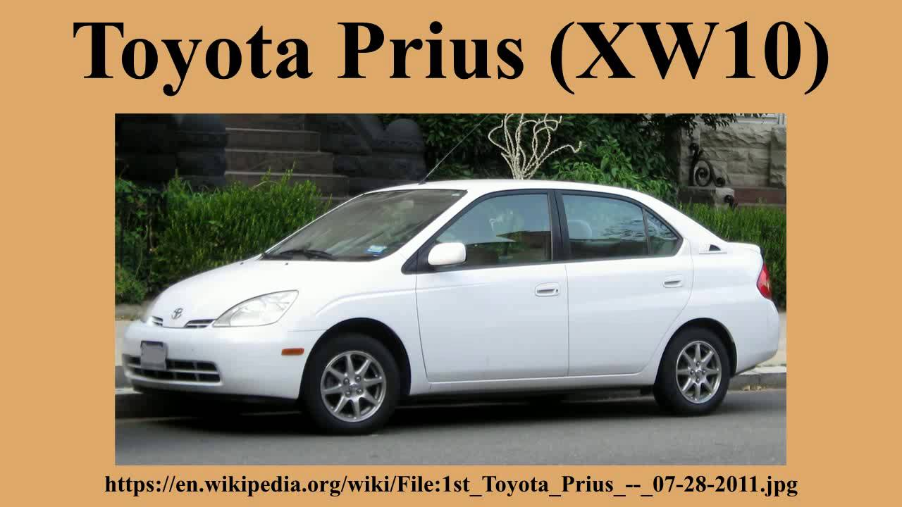 Toyota Prius I Restyling (XW10) 2000 - 2003 Sedan #1