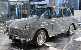 Toyota Publica II (P20) 1966 - 1969 Coupe #6