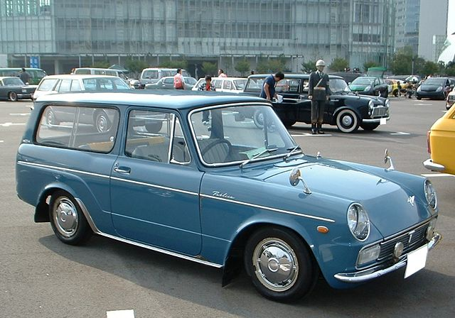 Toyota Publica II (P20) 1966 - 1969 Coupe #3