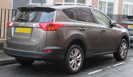 Toyota Vanguard 2007 - 2013 SUV 5 door #3