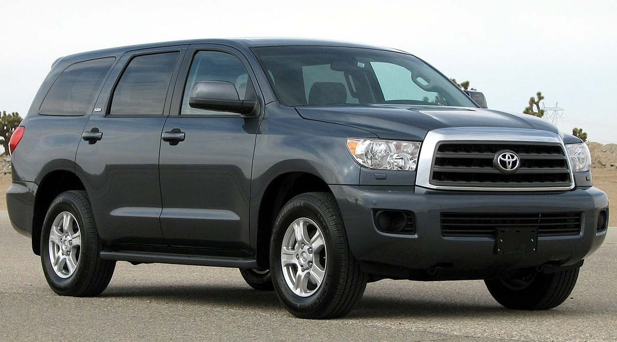 Toyota Sequoia I Restyling 2004 - 2007 SUV 5 door #8