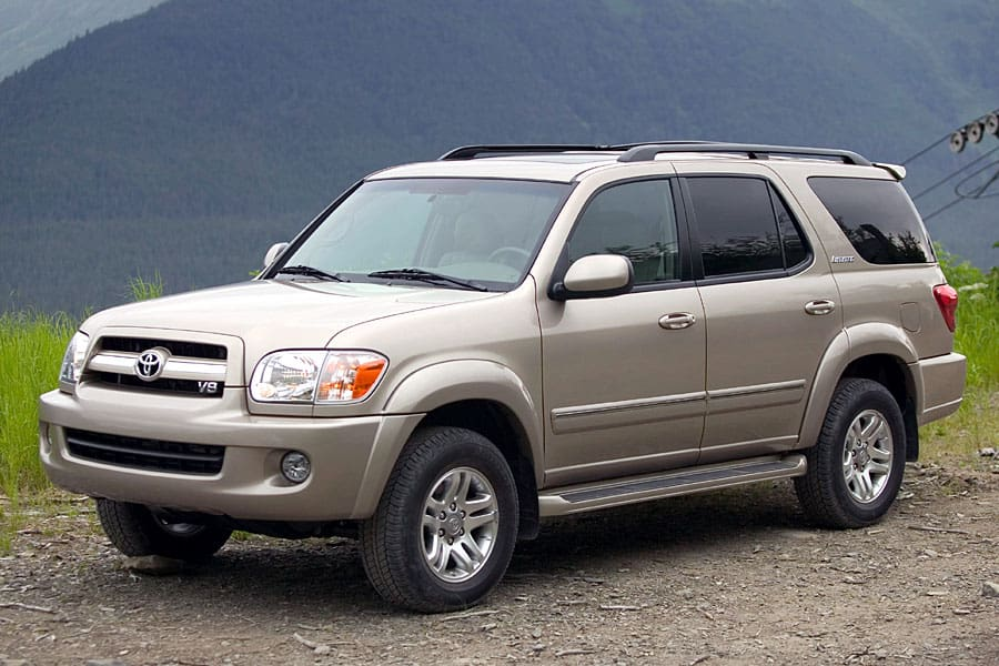 Toyota Sequoia I Restyling 2004 - 2007 SUV 5 door #7