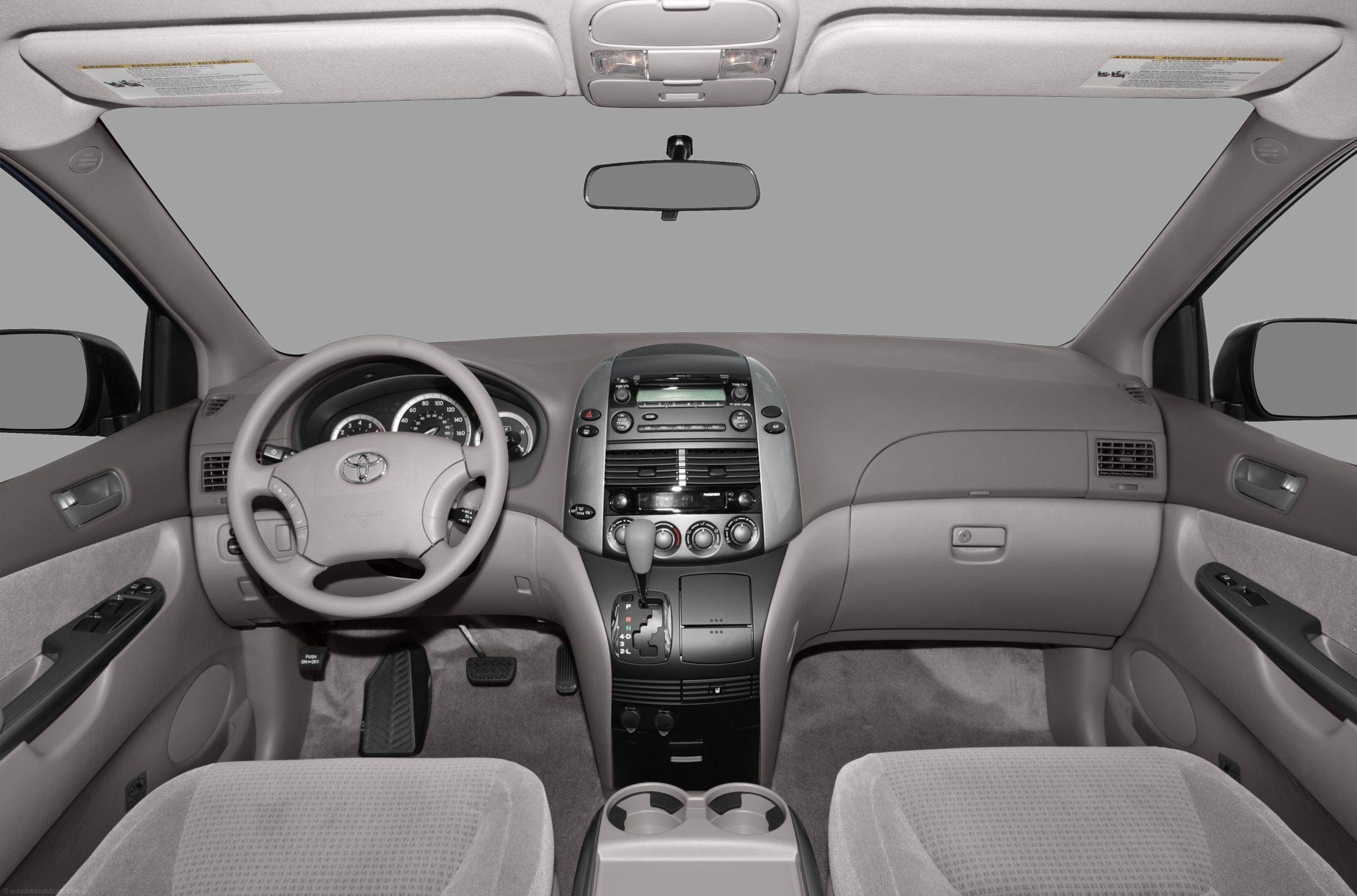 Toyota Sienna III 2010 - now Minivan #7