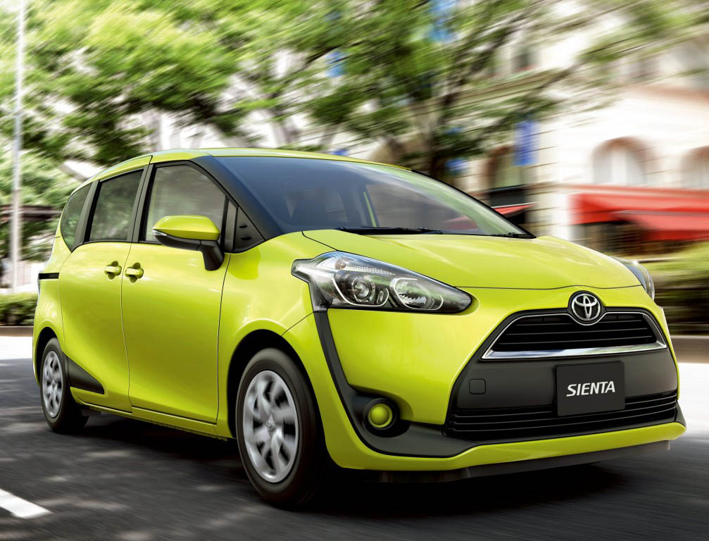 Toyota Sienta I Restyling 2 2011 - 2015 Compact MPV #5