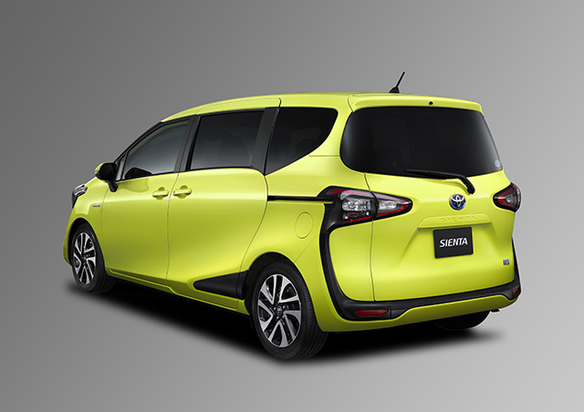 Toyota Sienta I Restyling 2 2011 - 2015 Compact MPV #4