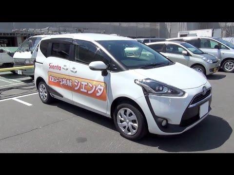 Toyota Sienta II 2015 - now Compact MPV #3
