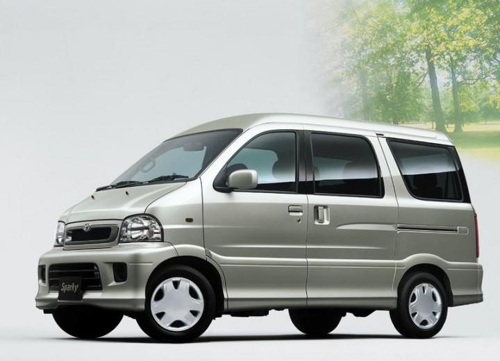 Toyota Sparky 2000 - 2003 Microvan #5