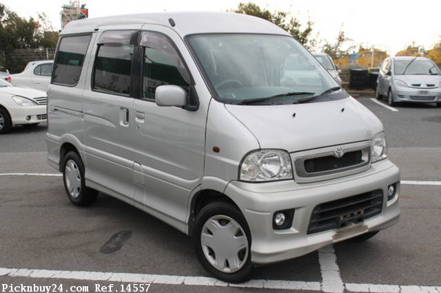 Toyota Sparky 2000 - 2003 Microvan #6