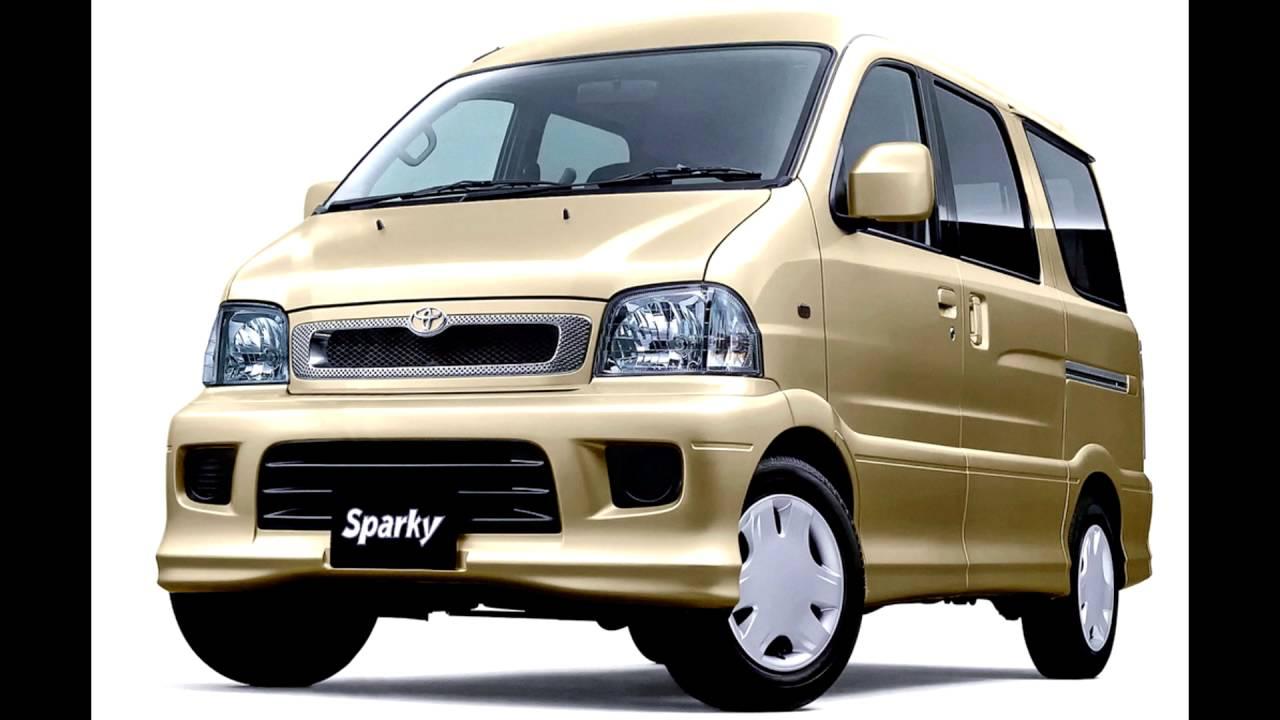 Toyota Sparky 2000 - 2003 Microvan #8