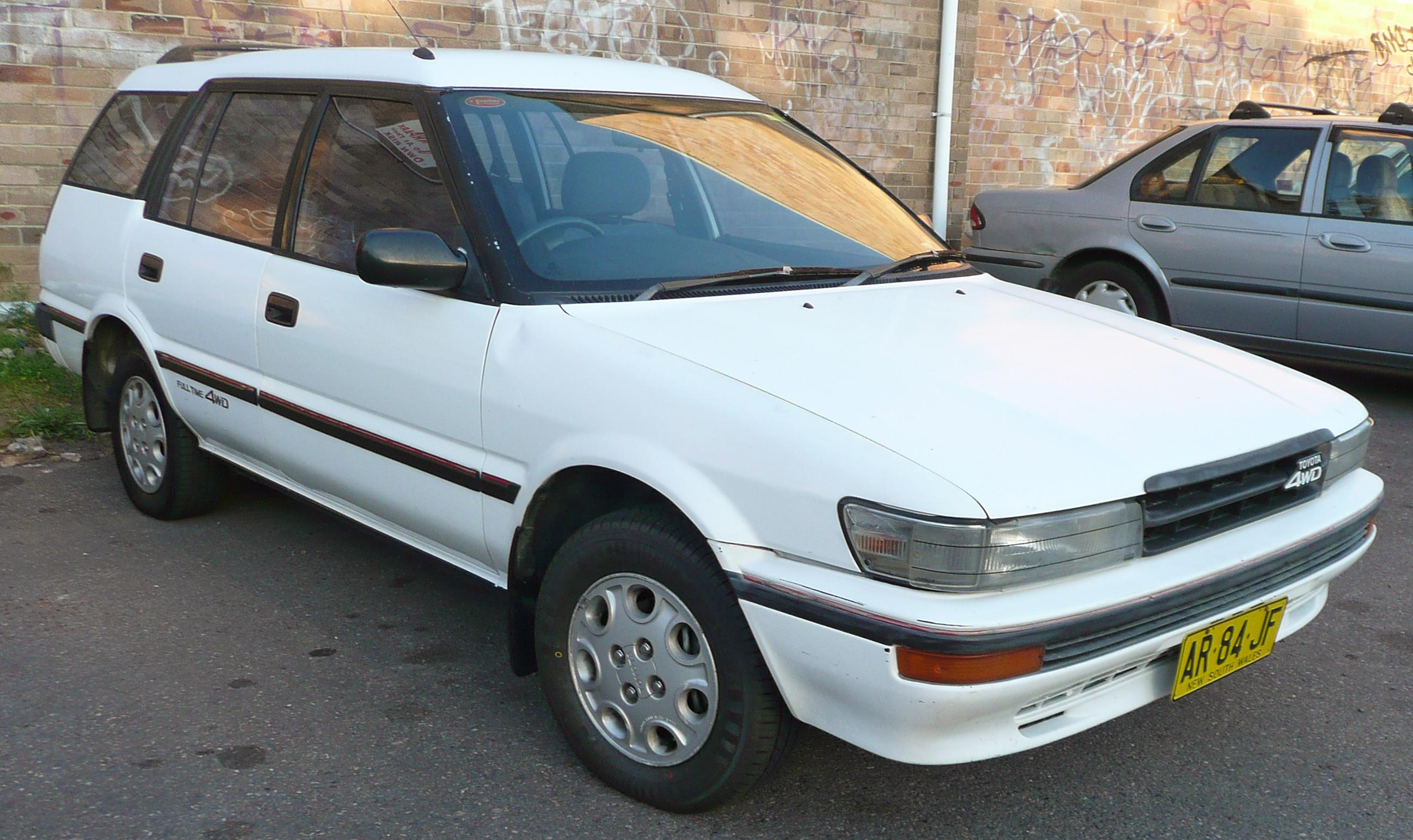 Toyota Sprinter Carib I 1982 - 1988 Station wagon 5 door #4