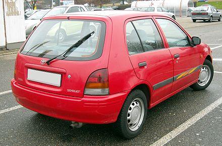 Toyota Starlet V (P90) 1996 - 1999 Hatchback 5 door #2