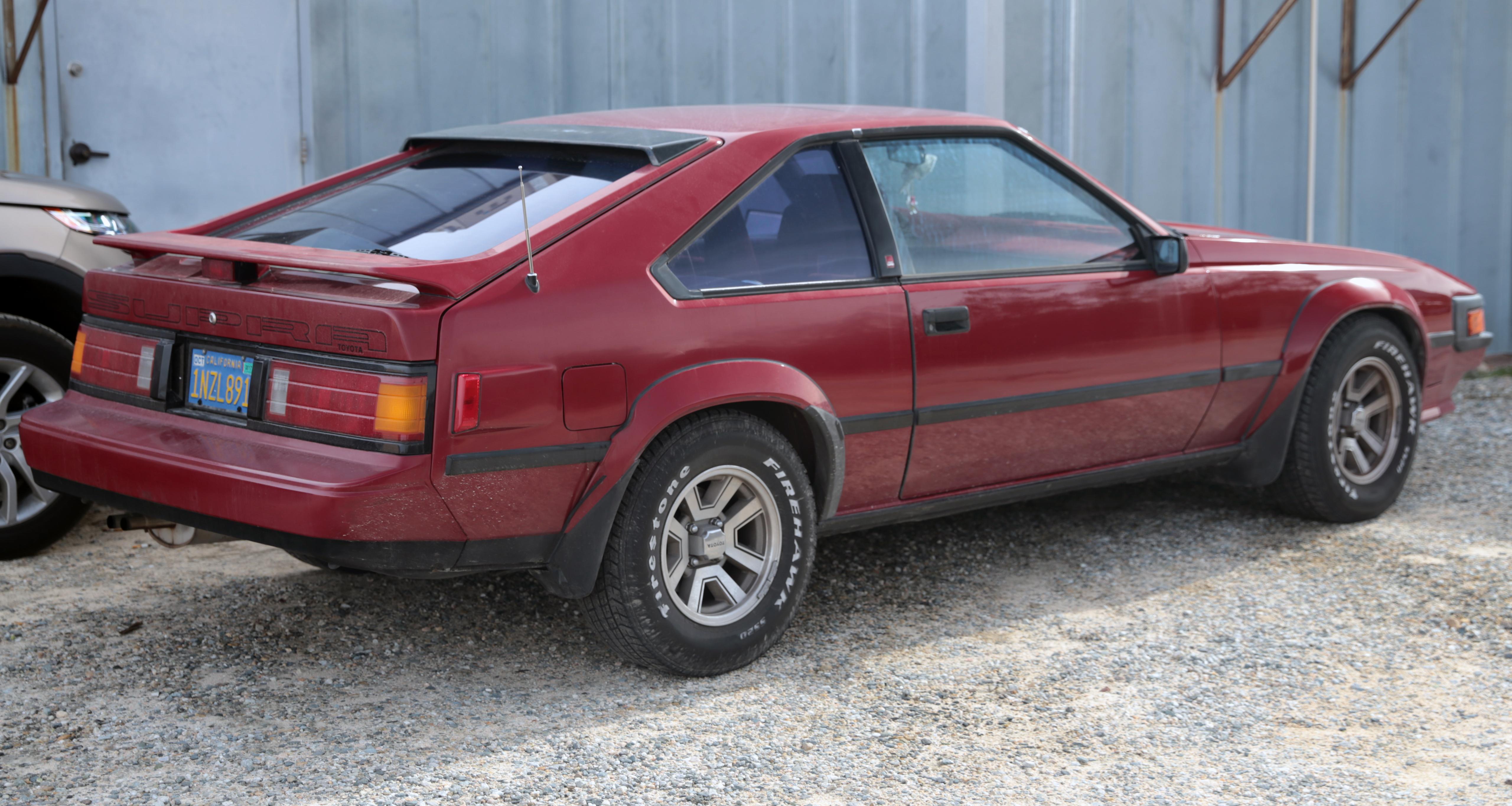 Toyota Supra III (A70) 1986 - 1993 Coupe #1