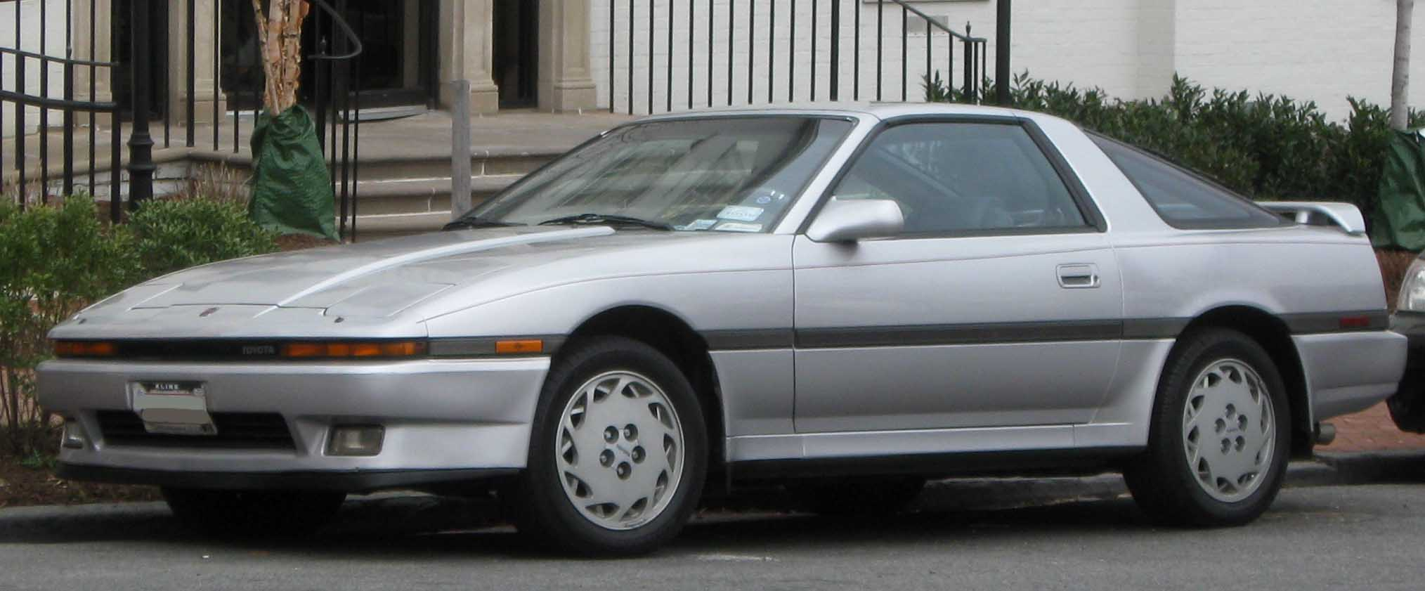Toyota Supra III (A70) 1986 - 1993 Coupe #6