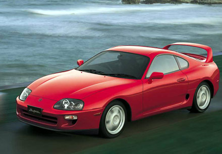 Toyota Supra IV (A80) Restyling 1996 - 2002 Coupe #8