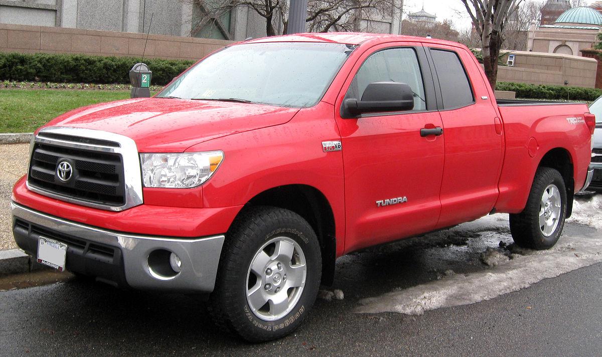 Toyota Tundra II Restyling 2013 - now Pickup #4