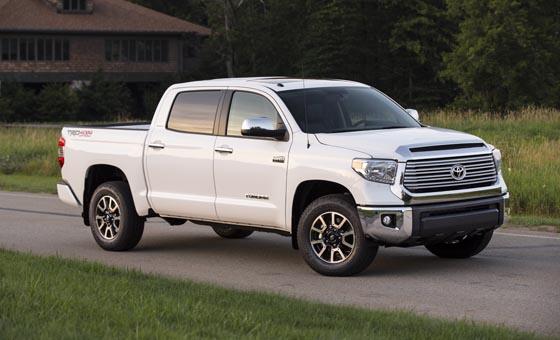 Toyota Tundra II Restyling 2013 - now Pickup #3