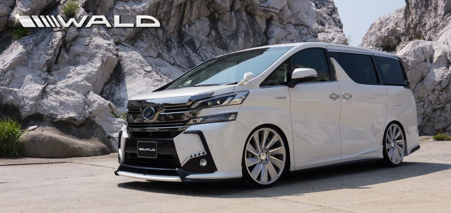 Toyota Vellfire II 2015 - now Minivan #3