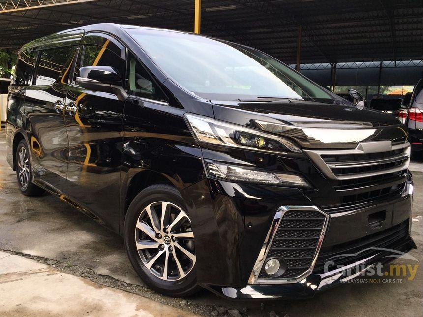 Toyota Vellfire II 2015 - now Minivan #5